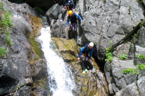 Canyoning - Canyoning dans l'Herault - Cascades d'Orgon